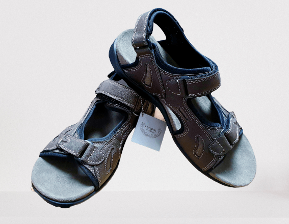 Pánske sandále/ sivo-hnedé