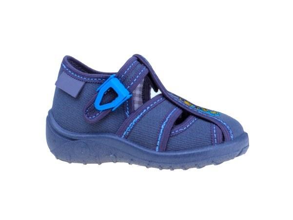 Detské textilné sadálky sivo-modré