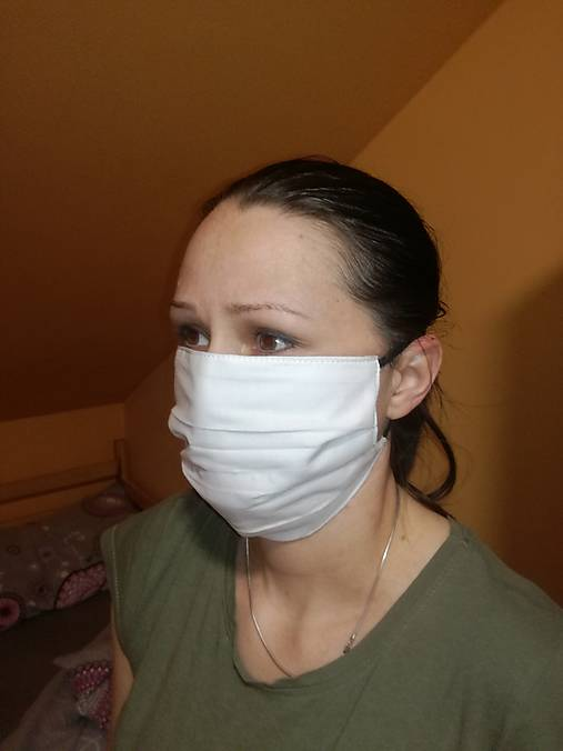 Ochranné hygienické rúško 3 vrstvové farebné