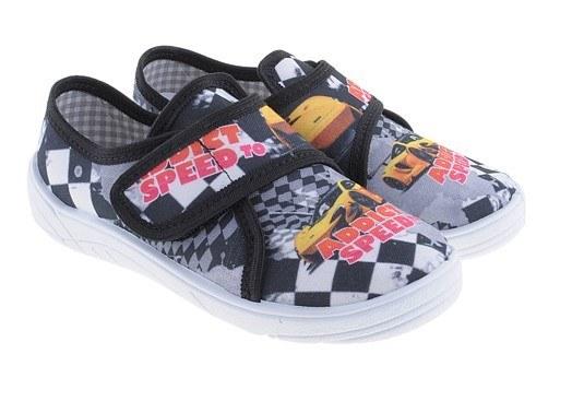 Detské papuče so zapínaním na suchý zips speed