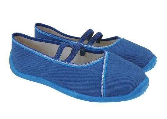 Dámske baleríny modré
